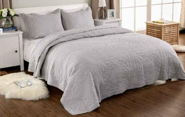 couvre lit matelassé UNIMALL