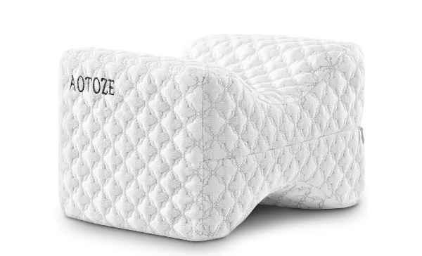 oreiller orthopédique pour genoux Aotoze