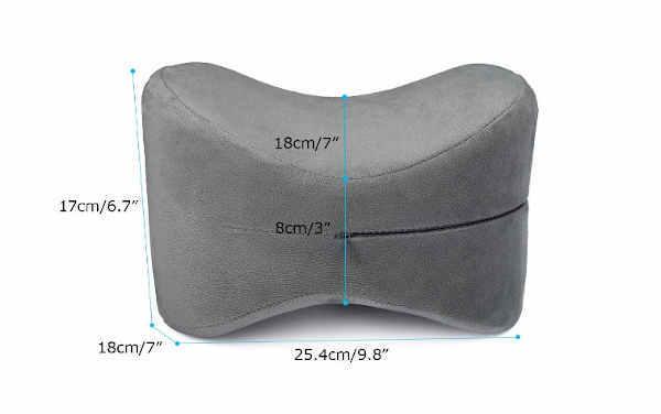 oreiller orthopédique pour genoux Essort