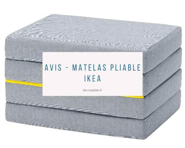 Avis - matelas pliable Ikea
