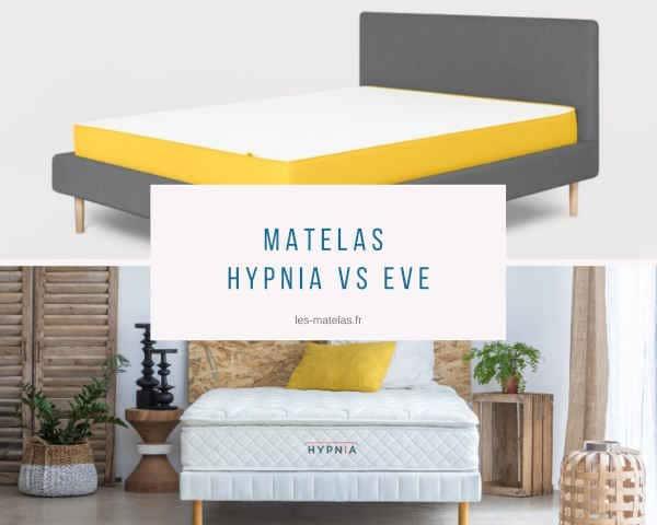 Matelas Hypnia ou Eve, lequel choisir ?