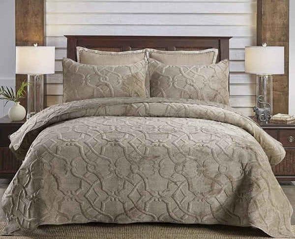 couvre lit de luxe LRQY