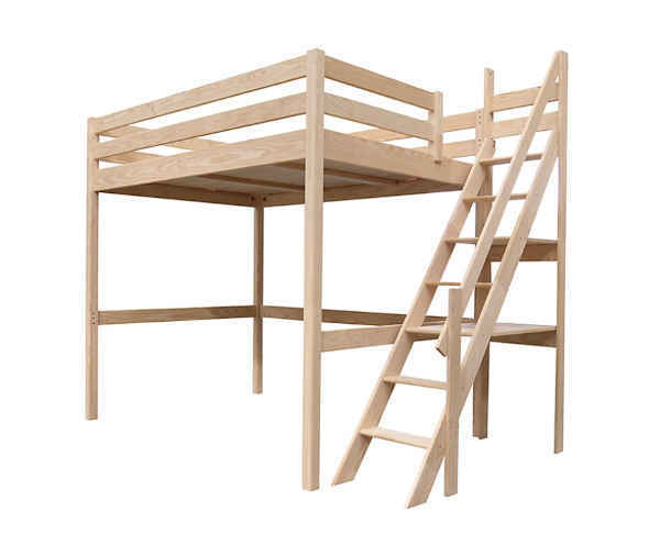 lit avec escalier de meunier Sylvia