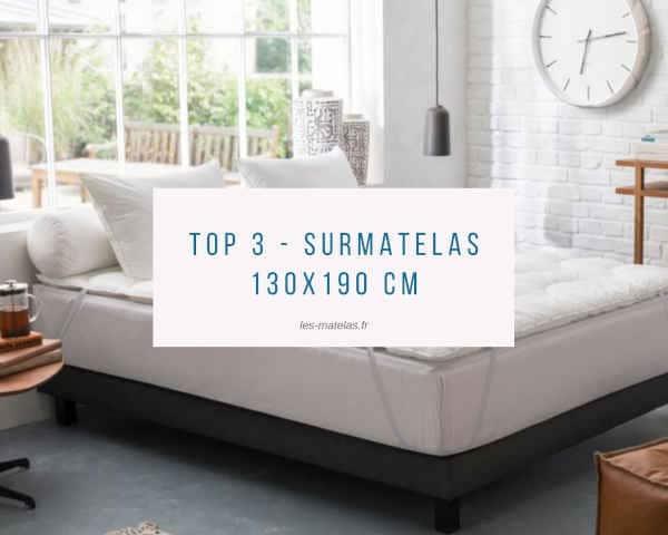Top 3 - Surmatelas 130x190 cm