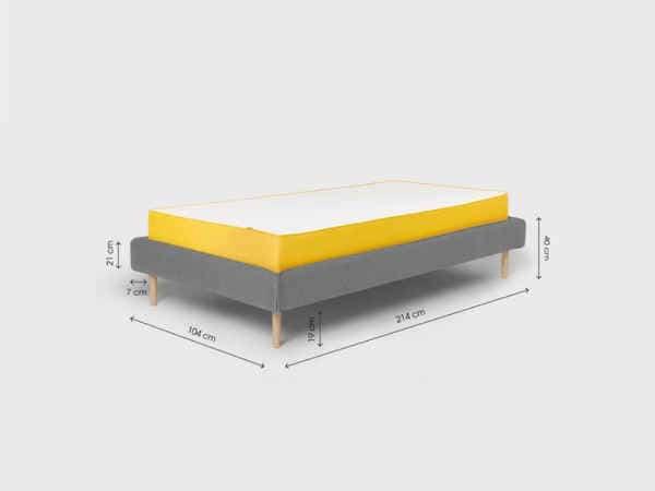 cadre de lit 90x200 cm Scandi de Eve