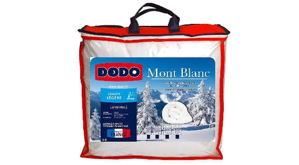 couette plumes Dodo Mont Blanc