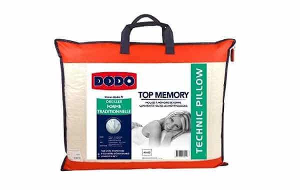 oreiller Top Memory Dodo
