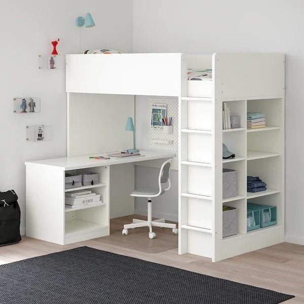 avis prix lit mezzanine Ikea Stuva