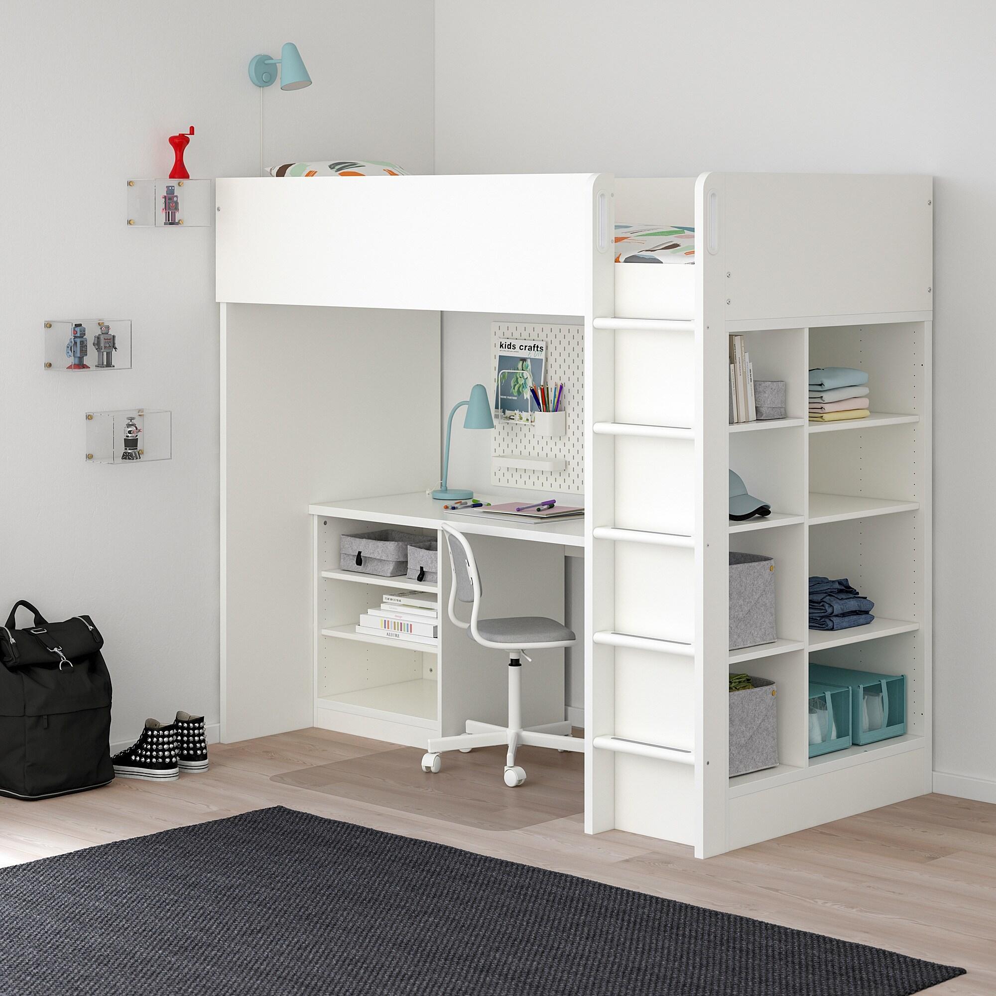 prix avis lit mezzanine Ikea Stuva