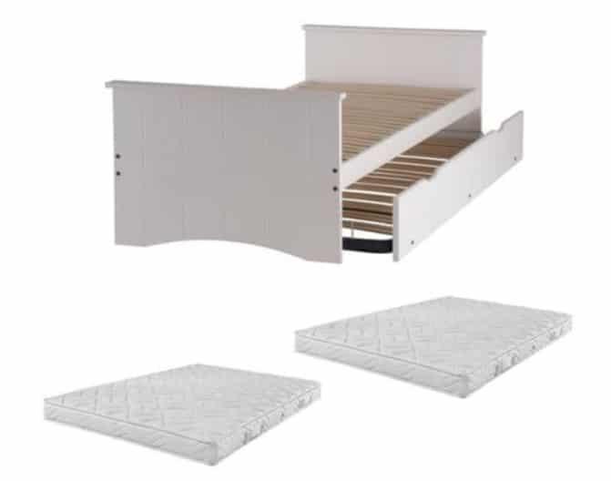 Avis comparatif meilleurs lits gigogne avec matelas et sommier