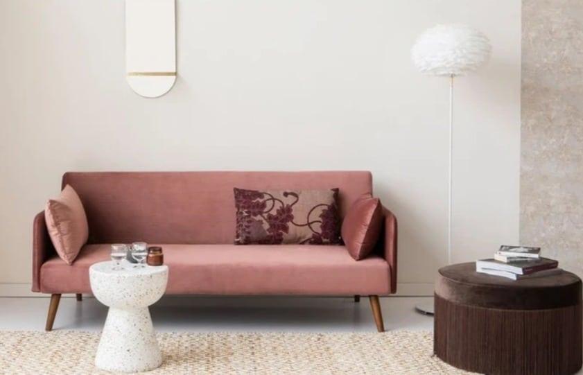 Avis comparatif prix canapés en velours rose