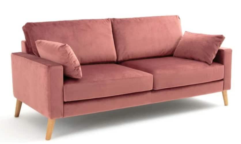 Avis comparatif prix meilleurs canapés velours rose