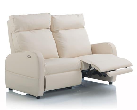 Avis prix canapés relax électriques 3 places microfibre Fidji
