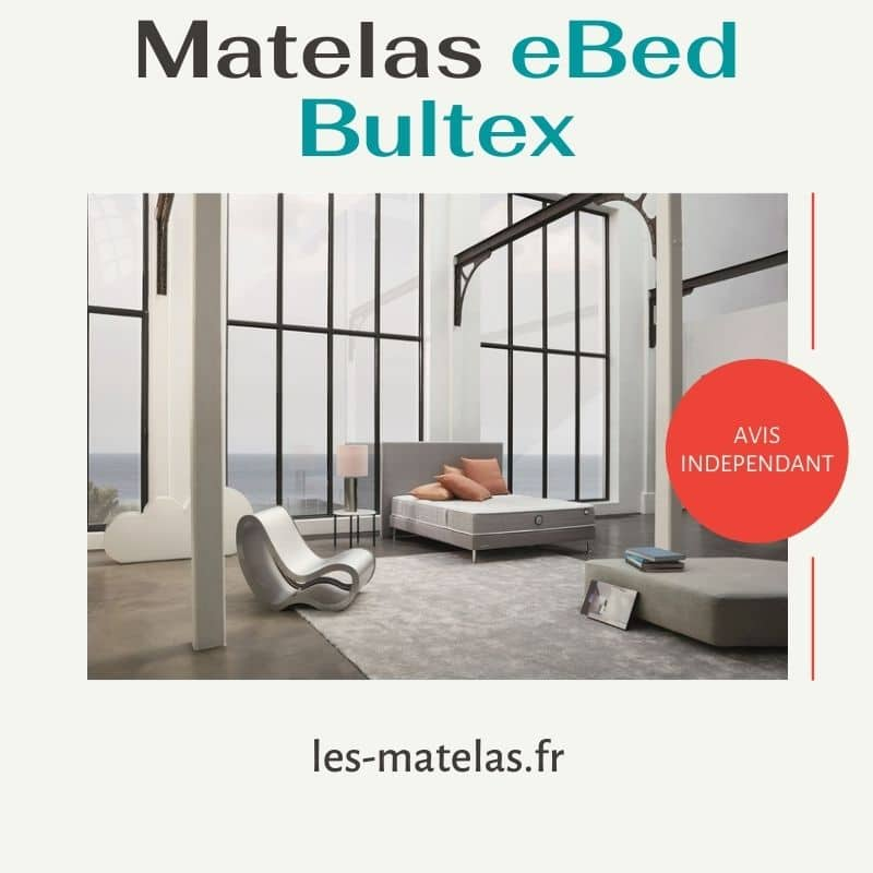 Avis prix matelas eBed Bultex