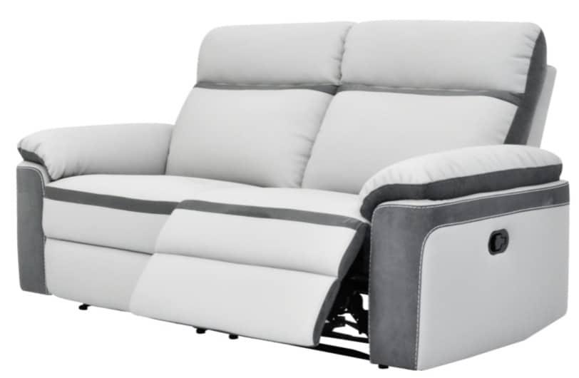 Avis prix meilleurs canapés relax électriques 3 places microfibre modèle Willy