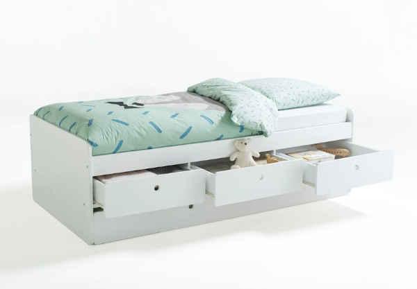 lit gigogne avec rangements Selisa