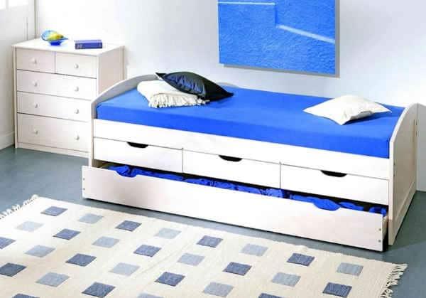 lit gigogne avec rangements Terre de Nuit