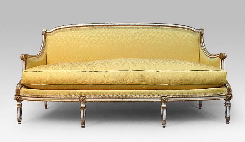 design canapés Louis XVI