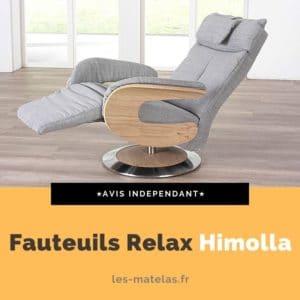 Avis fauteuils relax Himolla