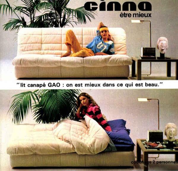 Canapés Cinna Gao