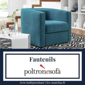 Avis fauteuil Poltronesofa