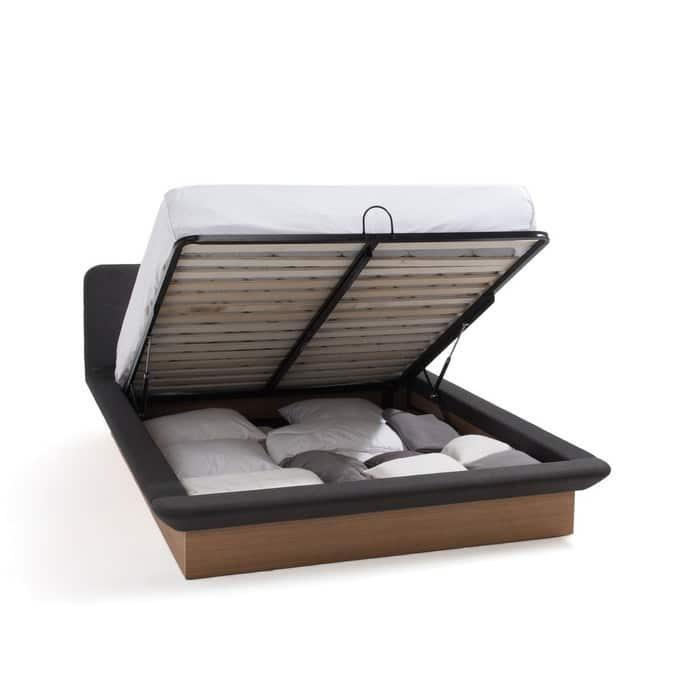 Cadre de lit haut de gamme avec rangement