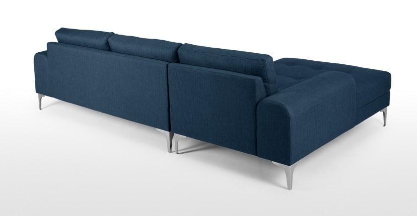 Canapé confortable Vittorio avec méridienne