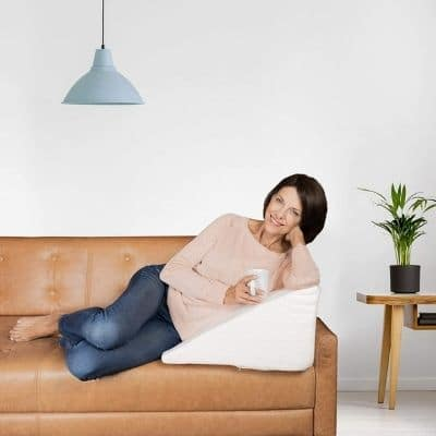 Choix coussin pour le dos lit