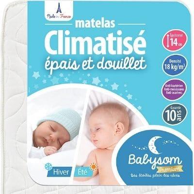 Matelas Babysom confortable