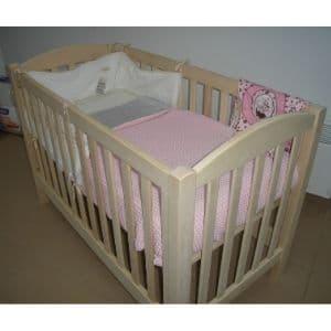 Prix lit bébé bois massif fabrication française
