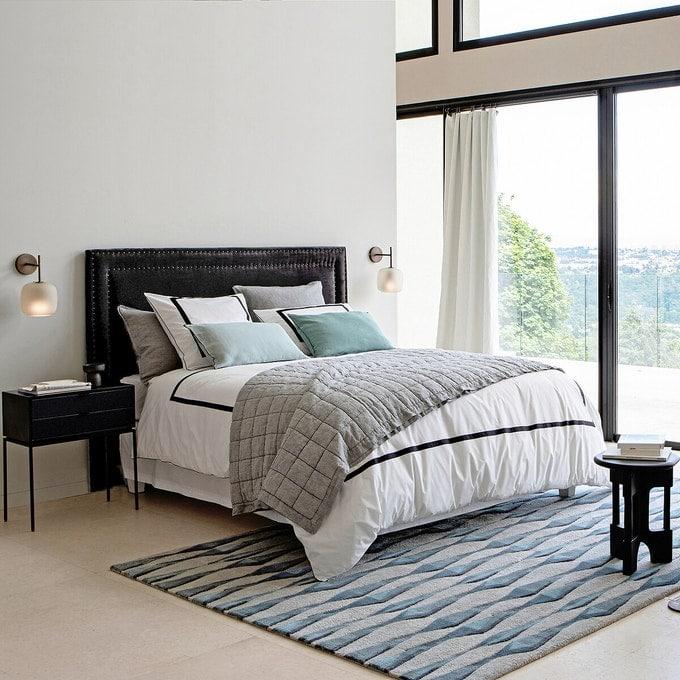 Tête de lit matelassée confortable