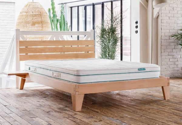 Cadre de lit avec sommier Kipli Normandie