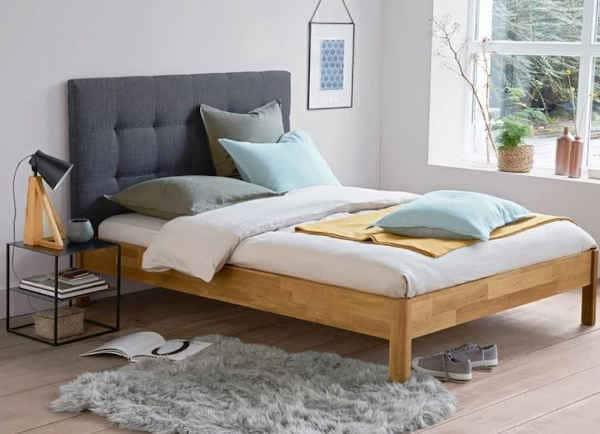 Cadre de lit avec sommier Zulda