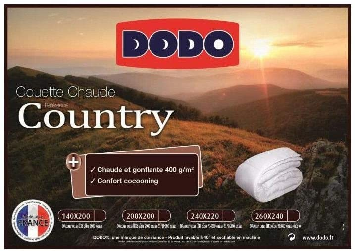 Confort couette Dodo Country