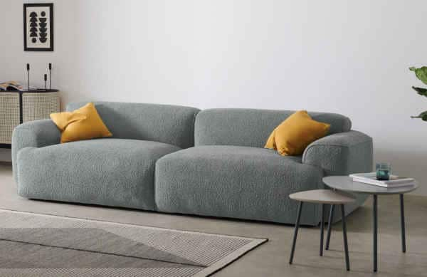 canapé avec assise profonde Avalon