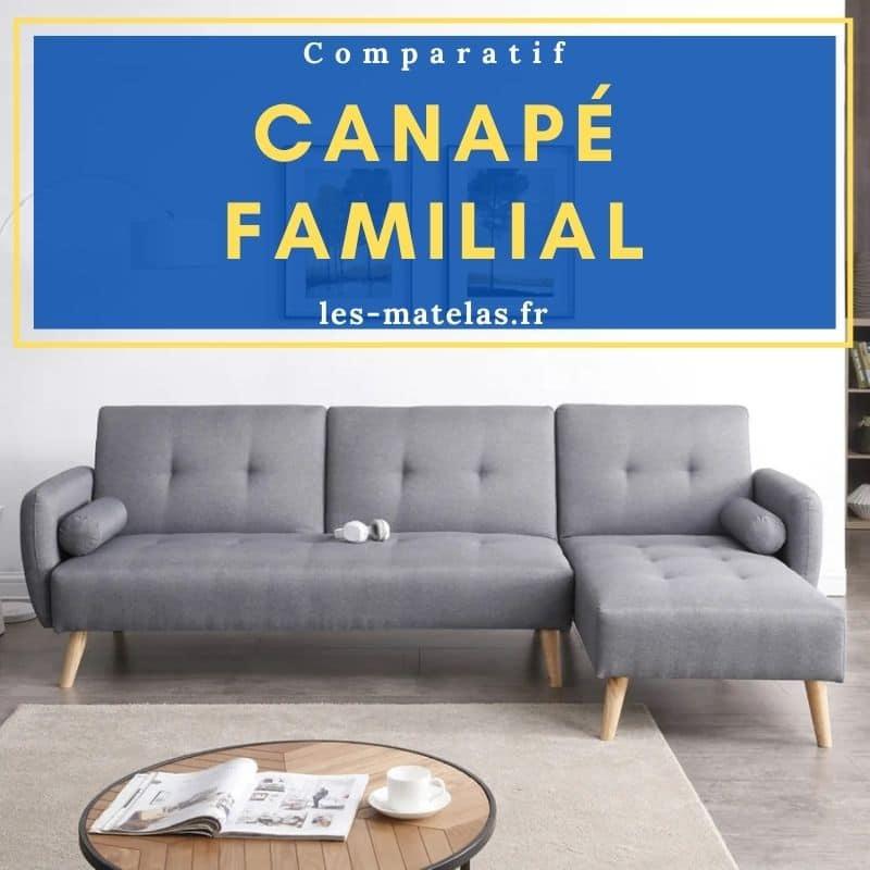 Avis canapé familial