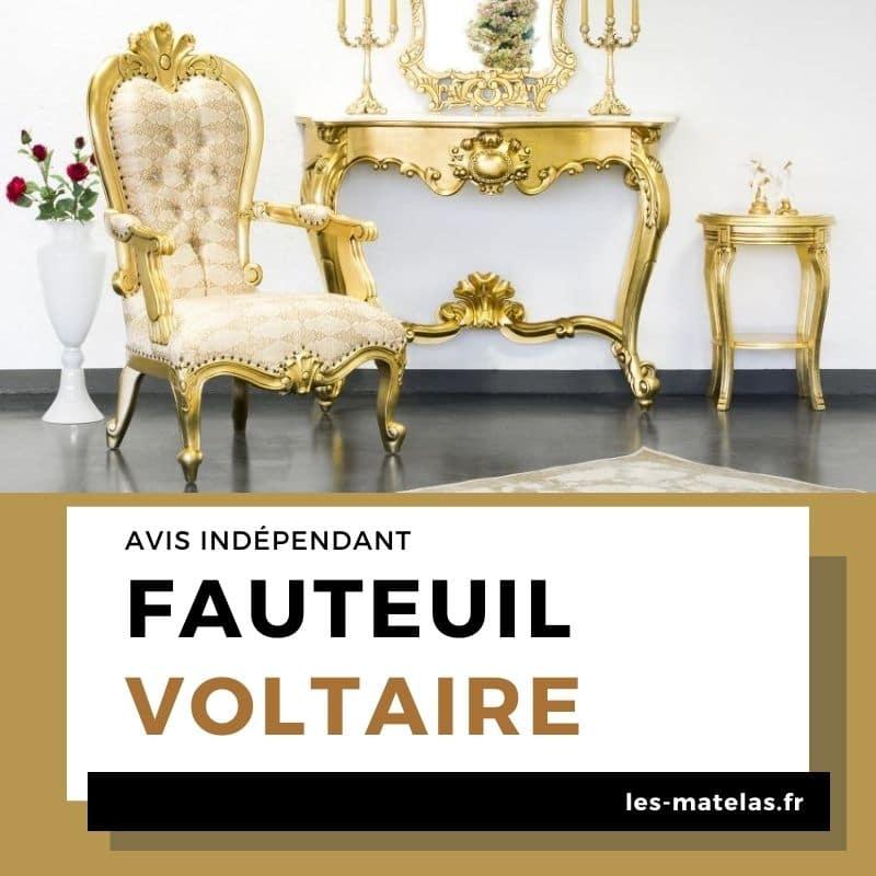 Avis fauteuil Voltaire