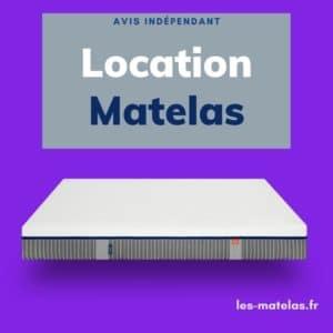 Avis location matelas