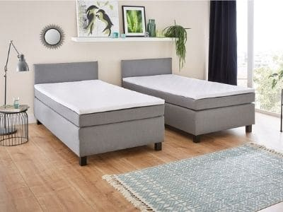 Confort lit jumeaux hôtel